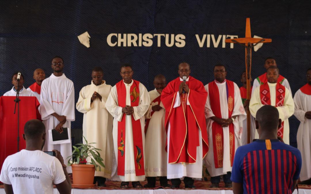 Retour en image de la messe d'ouverture