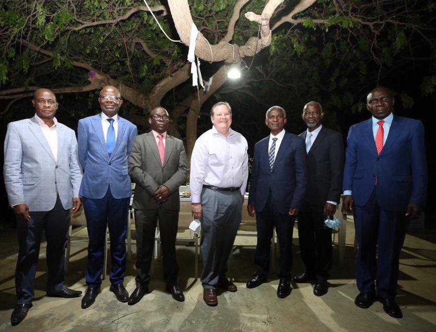 Rencontre du Directeur Général de l'EcoPo et  Monsieur Mike Hammer, Ambassadeur des Etats-Unis en RDC